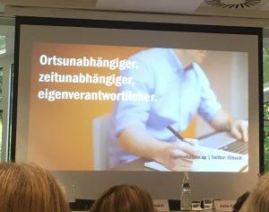 Vortrag zur Digitalisierung von Inga Höltmann