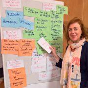 Beim Themenabend Websitelektorat der VFLL-Regionalgruppe Stuttgart referierte Katja Rosenbohm