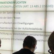 Dr. Carsten Ulbricht auf der 85. MBSMN in Stuttgart zu den Themen Urheberrecht, DSGVO und Urheberrechtsrichtlinie